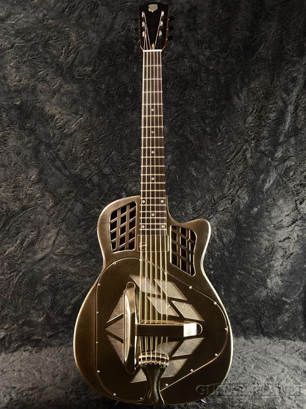 【ご予約受付中!!】National T-14 Cutaway Style-1 Rubbed Finish with/Slimline P.U. 新品 [ナショナル][トライコーン][Resonator,リゾネーター][Acoustic Guitar,アコースティックギター]