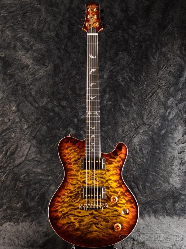 【2019年モデル】Nik Huber Dolphin II -Tigereye Burst- 新品[ニックフーバー][ホロウ/セミアコ][タイガーアイバースト][Electric Guitar,エレキギター]