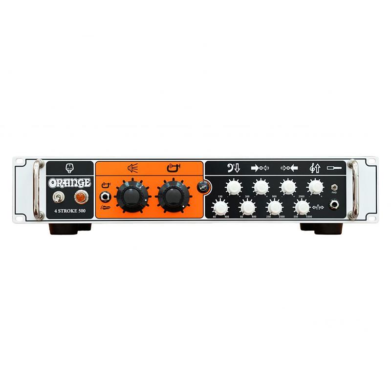 【500W】Orange 4-Stroke 500 新品 ベース用アンプヘッド[オレンジ][ストローク][クラスAB][Bass Amplifier Head]
