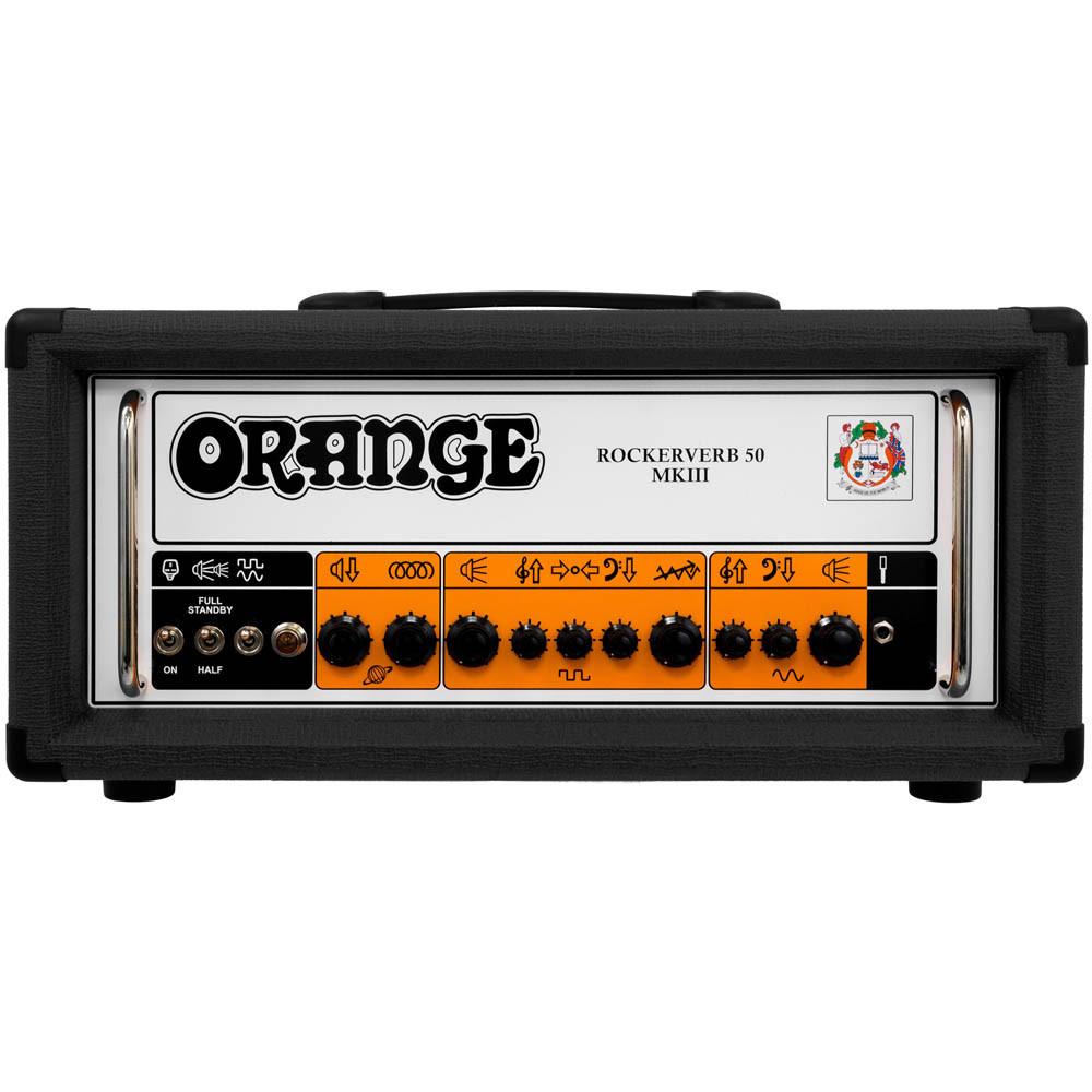 【キャンペーン中!】【50W】Orange Rockerverb 50 MK III Black Head 新品 ギターアンプヘッド[オレンジ][ロッカーバーブ][マーク3][真空管搭載][ブラック,黒][Guitar Amplifier,Head][動画]