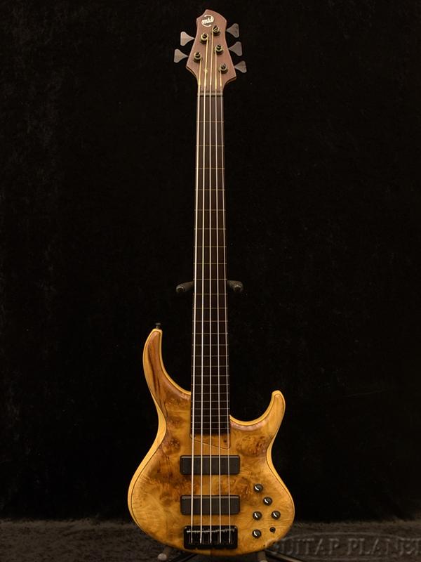 【中古】MTD 535-24 FL - Myrtle Burl Top/Ash Body[Michael Tobias Design,マイケル・トバイアス][5弦][フレットレス][アッシュ][Natural,ナチュラル][Electric Bass,エレキベース]【used_ベース】
