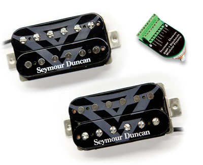 Seymour Duncan AHB-11s Gug G. Fire Blackouts System 新品[セイモアダンカン][AHB11S][ガスG][Humbucker,ハムバッカー][Pickup]