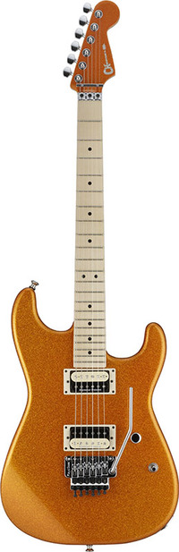 Charvel Pro-Mod Series Super Stock SD1 FR brand new Sunset Orange Flake [Charbel] Orange [sunsetorangeflerk] Stratocaster, STRAT caster type Electric Guitar, electric guitar
