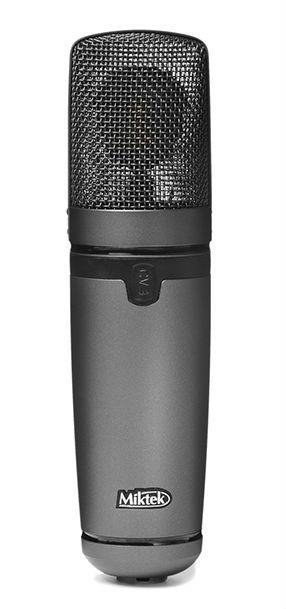 Miktek CV3 新品 真空管コンデンサー・マイク/マルチパターン[マイクテック][Condenser Microphone]