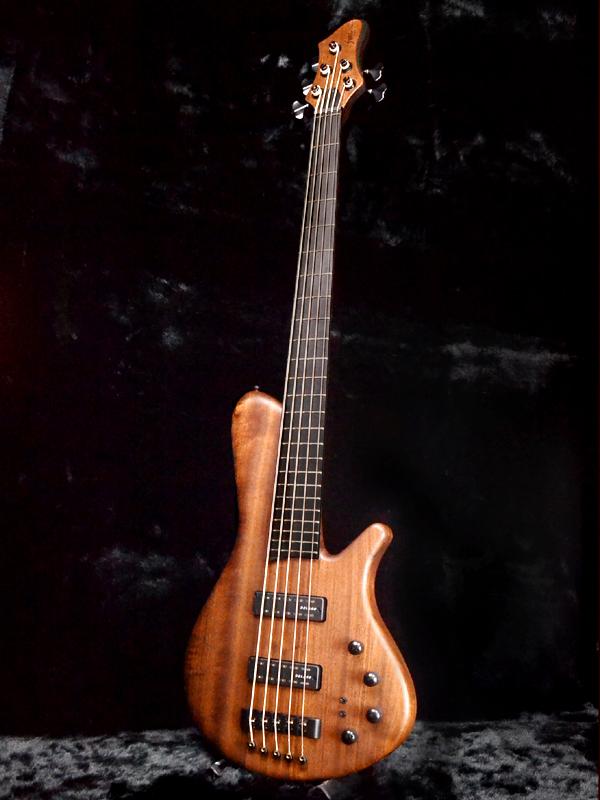 弗朗茨 · Bassguitars 天狼星 5Strings 新 [汽车],[德国] [天狼星] [通过颈部设计] [弦] [自然,自然,布朗] [电贝司,低音]