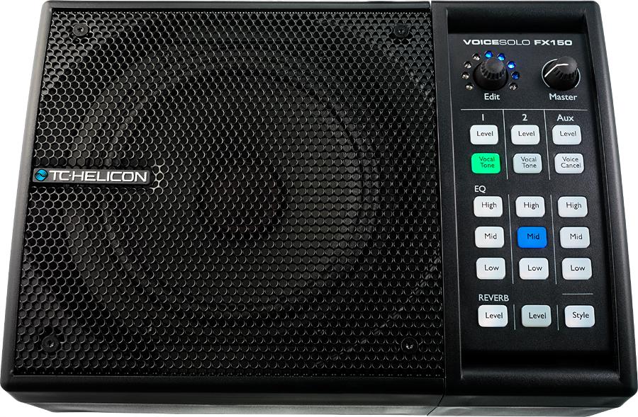 TC HELICON VoiceSolo FX150 新品パーソナルPAスピーカー&ボーカルプロセッサー[TCヘリコン,t.c.electronic,TCエレクトロニック][ボイスソロ,ヴォイス][Speaker,Vocal Effector]