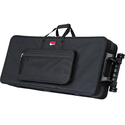 GATOR GK-76 軽量キーボードケース 76鍵用 新品 キャスター/ハンドル付[ゲーター][Keyboard Case]