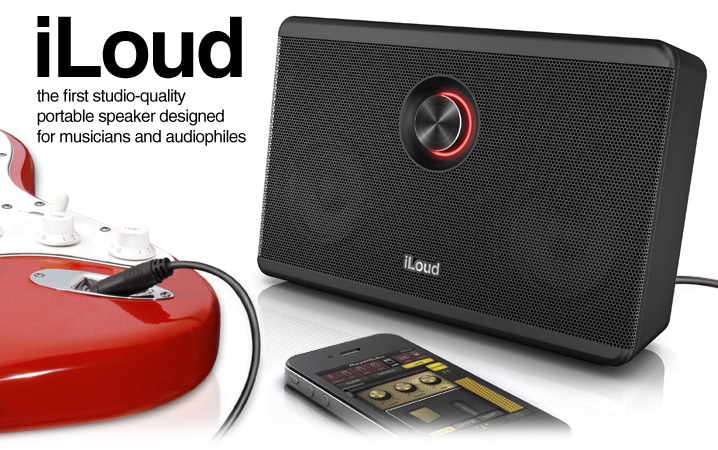 iLoud IK Multimedia 新品 ポータブル・スピーカー[IKマルチメディア][iRig,アイリグ][iPhone][iPad][iPod touch][Wireless,ワイヤレス][Portable Speaker]
