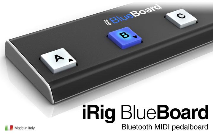 iRig BlueBoard 新品 ワイヤレスMIDIフットコントローラー [アイリグ][ブルーボード][Wireless][Bluetooth][Foot Controller][iPhone][iPod Touch][iPad][Effector,エフェクター]