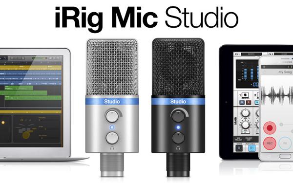 iRigMic Studio IK Multimedia 新品[アイリグ][スタジオ][IKマルチメディア][iPhone][iPad][iPod touch][Microphone,マイクロフォン]