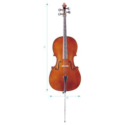 【弓/松脂/ケース付】STENTOR SC-650 新品 チェロセット[ステンター][Cello]