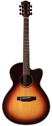Serena SN-1S CE AS 新品[セレナ][Sunburst,サンバースト][Acoustic Guitar,エレアコ,アコギ,アコースティックギター,Folk Guitar,フォークギター]