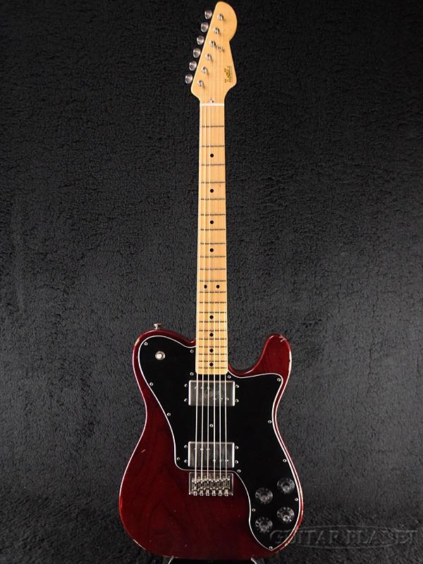 【中古】LSL Instruments T-Bone Super '70s Deluxe -Dark Wine Red / Maple- 2010年代製[LSLインストゥルメンツ][デラックス][ワインレッド,赤][Telecaster,テレキャスタータイプ][Electric Guitar,エレキギター]【used_エレキギター】