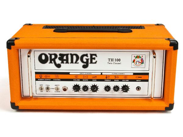一番人気物 【100W TH100】Orange TH100 Amplifier,Head] Head 新品 新品 ギターアンプヘッド[オレンジ][真空管搭載][Guitar Amplifier,Head], 光トレーディング:578749b6 --- greencard.progsite.com