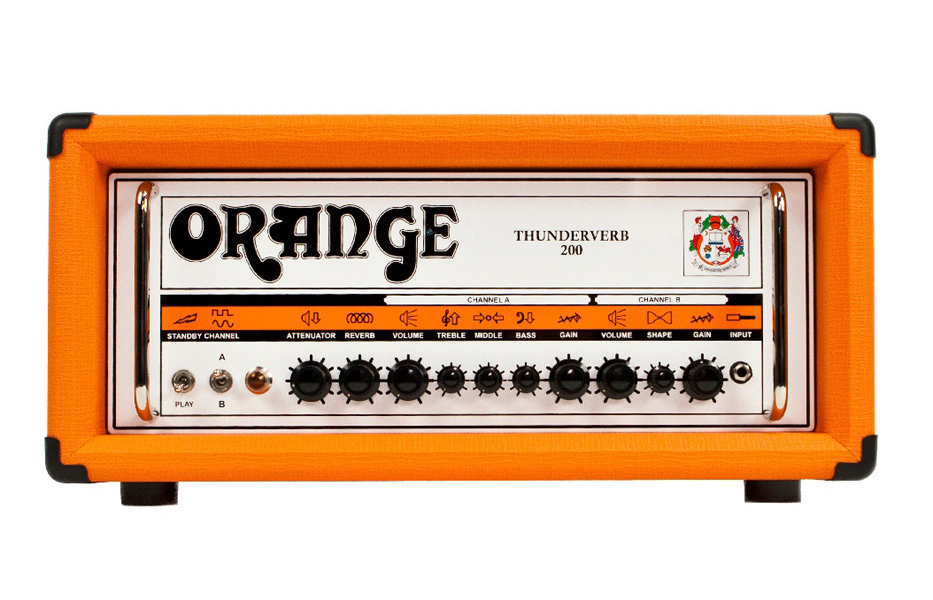 【200W】Orange Thunderverb 200 Head 新品 ギターアンプヘッド[オレンジ][真空管搭載][Guitar Amplifier,Head]