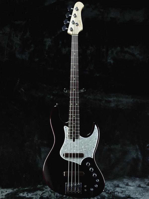 XOTiC XJ-1T -Black Cherry Metalic- 新品[エキゾチック][国産][ブラックチェリーメタリック,黒,赤][JB,ジャズベース][Electric Guitar,エレキギター]