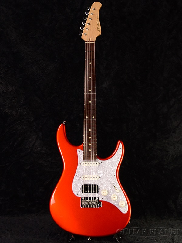 XOTiC XS-24F-SSH-Candy Orange Metallic - new [exotic] and [candiorangemetallick] Stratocaster, STRAT caster type electric guitar, Electric Guitar