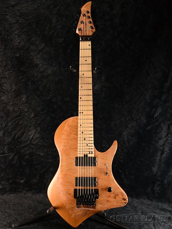 ABASI FRT Guitars Straight 7 Straight Burl Scale(Straight Fret) FRT Burl Maple Satin Natural/Maple 新品[アバシギターズ][ストレートスケール][ナチュラル][7strings,7弦][Electric Guitar,エレキギター], ふわふわkitchenシュシュ:bd65603d --- avtozvuka.ru