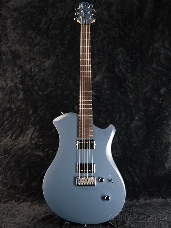Relish Guitars Rocky A MARY -Aluminum Flame- 新品[レリッシュ][Blue,ブルー,青][Electric Guitar,エレキギター]
