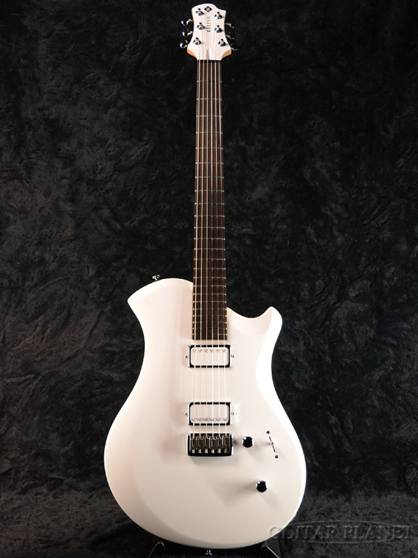 Relish Guitars Snow A MARY -Aluminum Flame- 新品[レリッシュ][White,ホワイト,白][Electric Guitar,エレキギター]