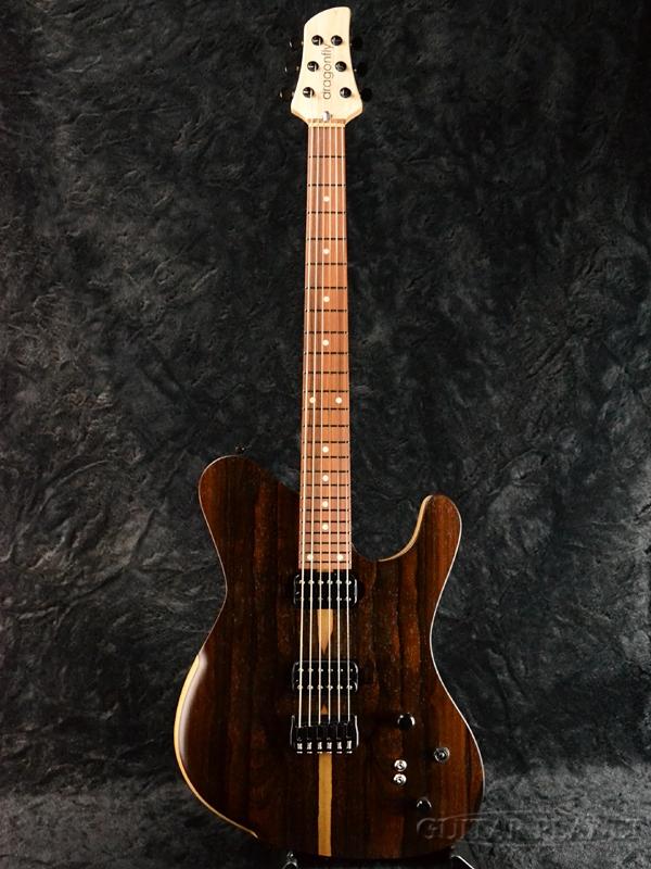 dragonfly BORDER Custom 666 -Mat Natural- 新品[ドラゴンフライ][カスタム][ナチュラル][Electric Guitar,エレキギター]
