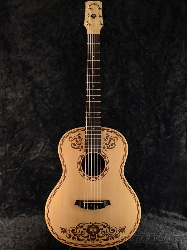 【2018?新作】 Cordoba Coco Guitar 新品[コルドバ][ココギター][ディズニー,ピクサー][リメンバー・ミー,デラクルス][ナイロン,Nylon][Mini Guitar,ミニギター][Classic Guitar,クラシックギター], 塗り丸 553f6176