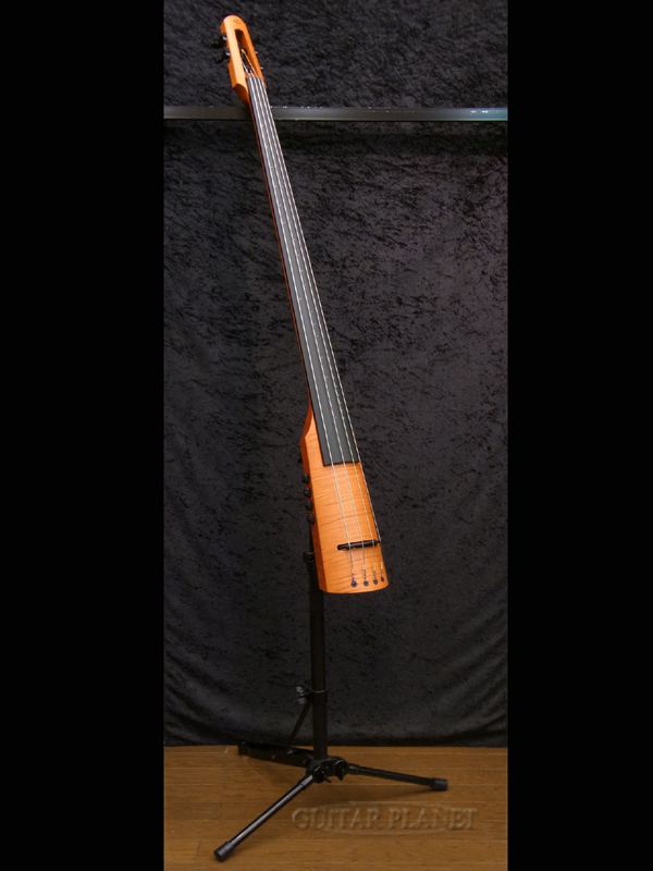 NS DESIGN CR4 DB -Amber- 新品[Ned Steinberger,NSデザイン][Polarピックアップ搭載][Electric Upright Bass,エレクトリックアップライト]_otherb