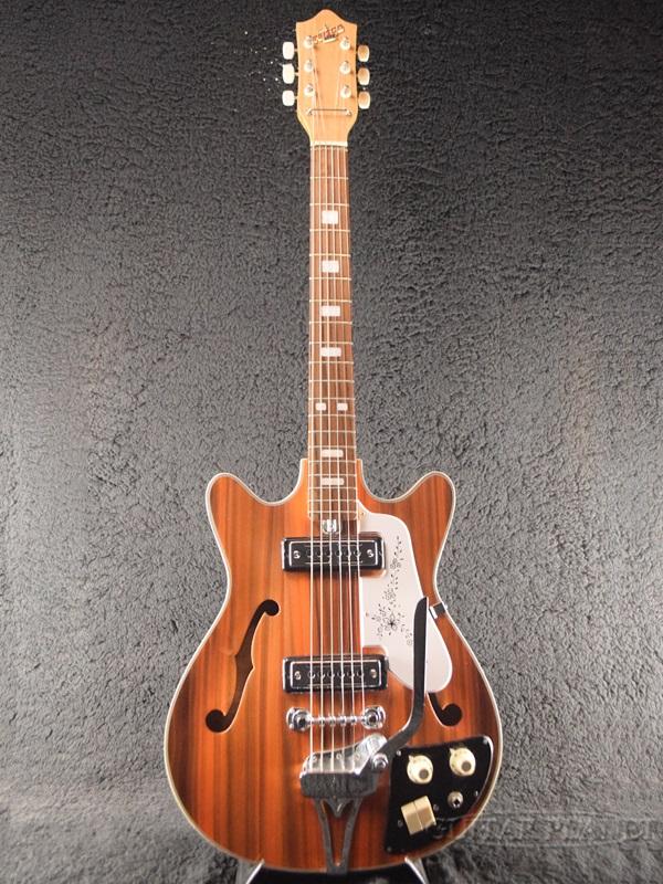 【中古】Teisco EP-8T -Wildwood- 1960年代後半製[テスコ][国産][ワイルドウッド][フルアコ][Electric Guitar,エレキギター][Bizarre,ビザール][EP8T]【used_エレキギター】