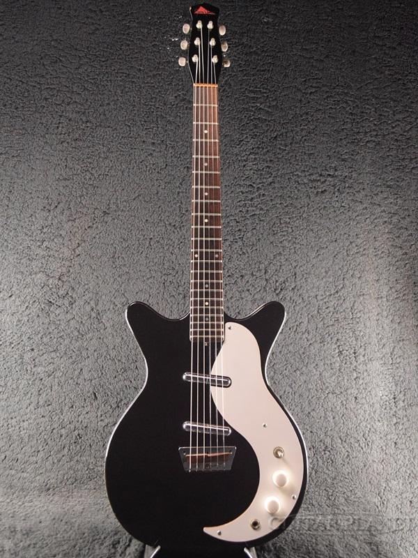 【中古】Jerry Jones Shorthorn -Black & White- 1990年代製[ジェリージョーンズ][ショートホーン][ブラック,黒][Danelectro,ダンエレクトロタイプ][Electric Guitar,エレキギター]【used_エレキギター】