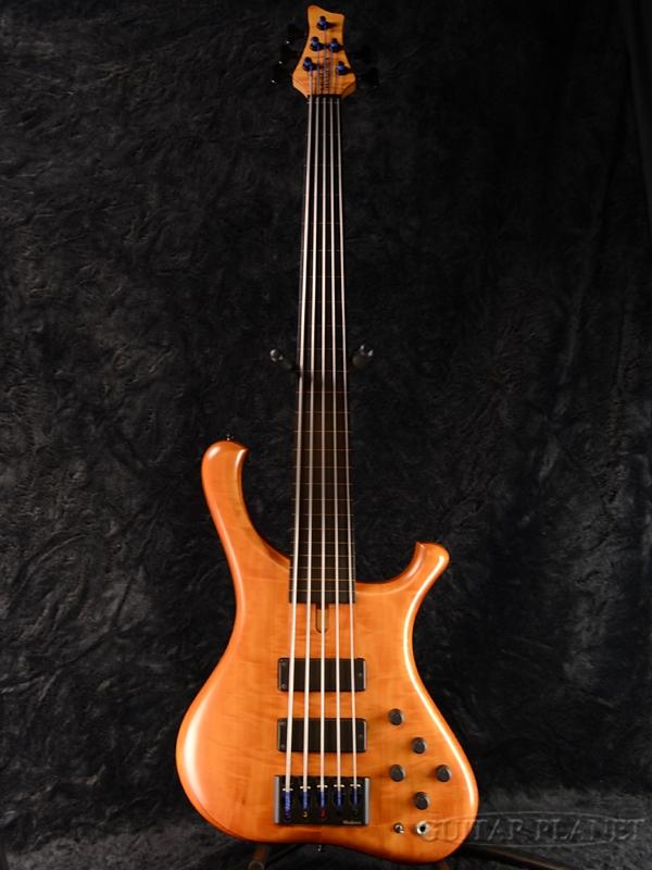 【中古】MARLEAUX BASS GUITARS Consat Custom 5st Fretless[Natural,ナチュラル][フレットレス][Electric Bass,エレキベース]【used_ベース】