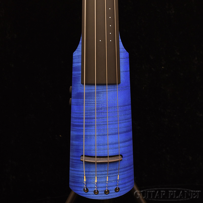 NS DESIGN NXT4-DB Trans Blue[NSデザイン][アップライトベース][トランスブルー,青][Electric Bass,エレキベース]