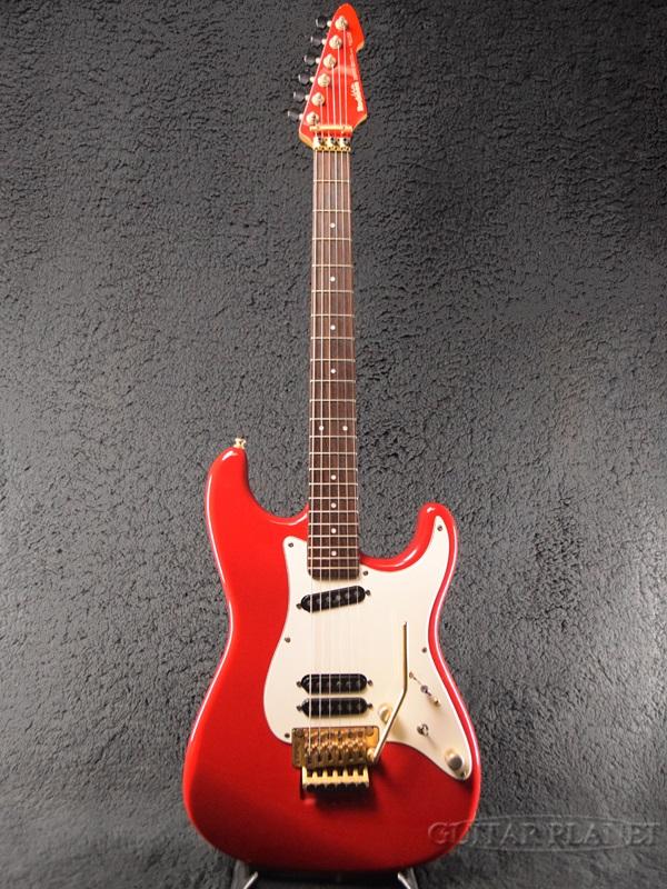 【中古】Rockoon RG ''Custom Made'' -TR- 1989年頃製[ロックーン][Red,レッド,赤][Stratocaster,ストラトキャスタータイプ][Electric Guitar,エレキギター]【used_エレキギター】