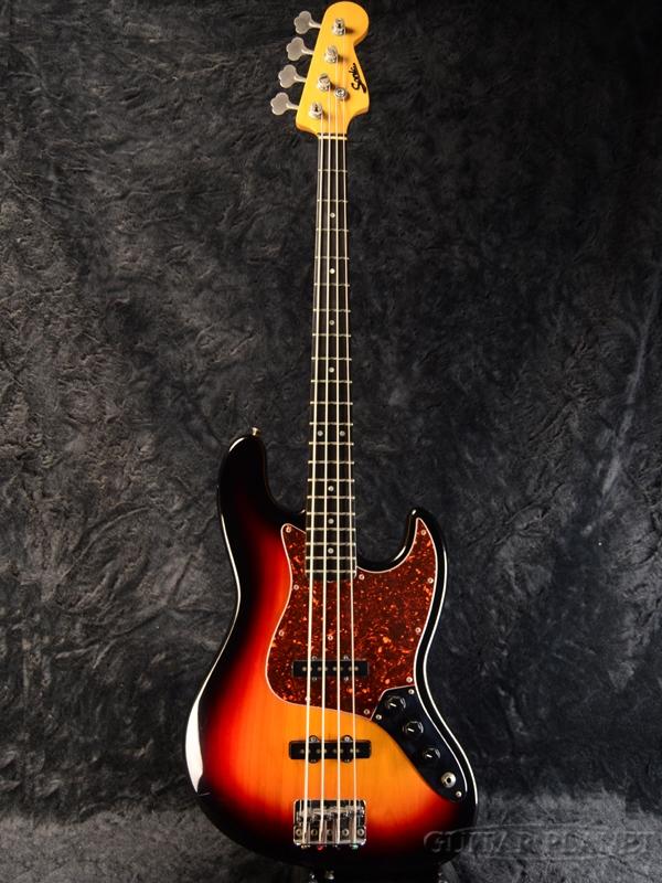 【中古】Sonic JB Model -3TS- 1987年製[ソニック][国産][3トーンサンバースト][Jazz Bass,ジャズベース][Electric Bass,エレキベース]【used_ベース】, マムロガワマチ 8468a40d