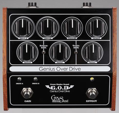 Crews Maniac Sound G.O.D/Genius Over Drive新货[周游观光船爱好者的声音][国产][overdrive][Effector,效应器]
