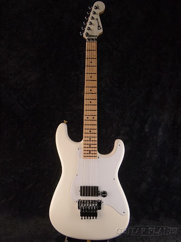 Charvel USA Custom Shop So-Cal 1H EMG 新品[シャーベル][Gary Moore,ゲイリームーア][ソーカル][Floydrose,フロイドローズ][White,ホワイト,白][Stratocaster,ストラトキャスタータイプ][Electric Guitar,エレキギター]