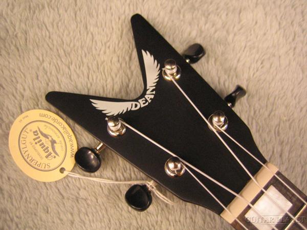 院长夏威夷四弦琴 ML-黑色缎子全新音乐会夏威夷四弦琴 [院长] [音乐会夏威夷四弦琴] [桃花心木、 桃花心木]