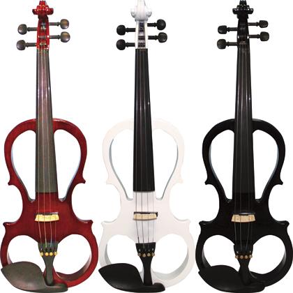 【弓/松脂/ケース付】KIKUTANI 新品 ESV-380 Violin,エレキバイオリン] エレクトリックバイオリン[キクタニ][Brown,White,Black][Electric