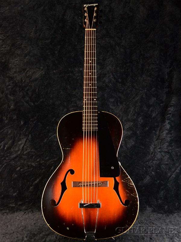 【7月限定大特価!!】【中古】Kalamazoo 1941 KG-21 Sunburst 1941年製[カラマズー][サンバースト][Acoustic Guitar,アコギ,アコースティックギター,Folk Guitar,フォークギター][KG21]【used_エレキギター】_vtg
