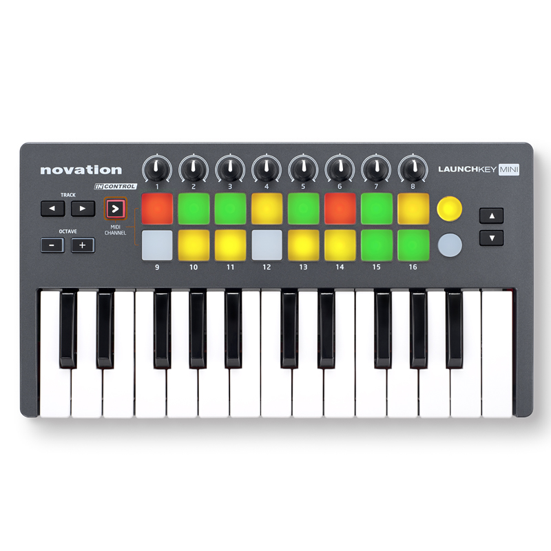 Novation Launchkey Mini新货[nobeshon][raunchiki][USB/MIDI控制器][小键盘]