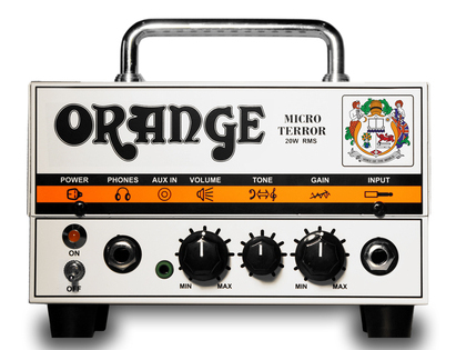 【20W】Orange Micro Terror 新品 ミニアンプヘッド[オレンジ][マイクロテラー][真空管搭載][ギターアンプ,Guitar Amplifier Head]
