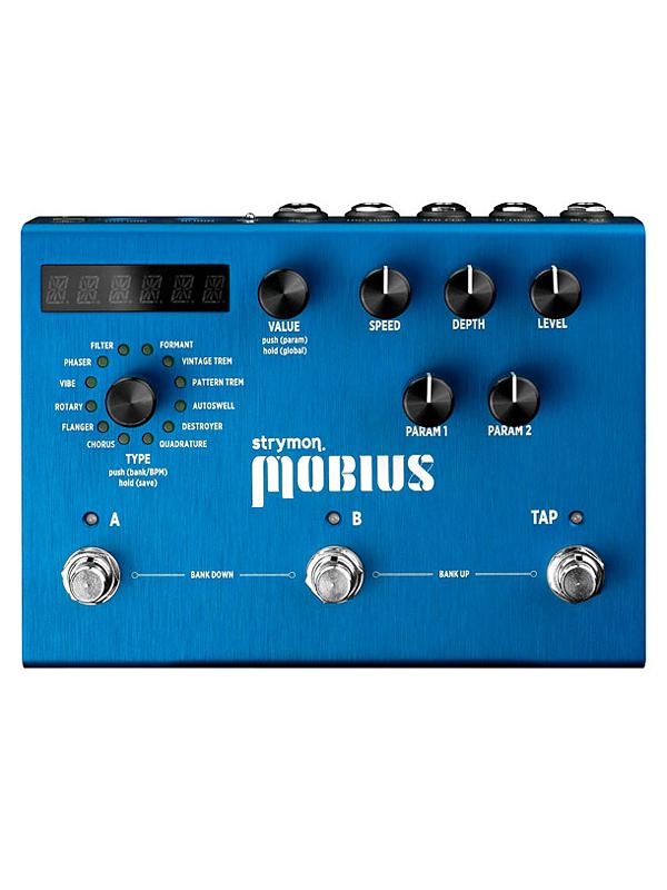 strymon MOBIUS 新品 モジュレーションマシーン [ストライモン][メビウス][Modulation][MIDI][Effector,エフェクター]