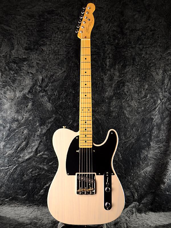 Momose MTL2-STD/M 新品 ホワイトブロンド[モモセ,百瀬][国産][エレキギター,Electric Guitar][Telecaster,テレキャスタータイプ][White Blonde]