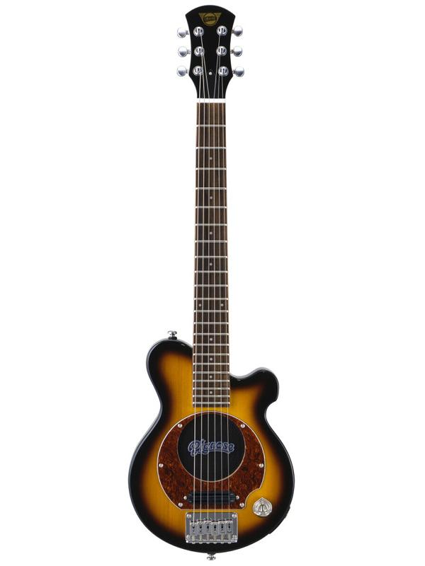 【エレキ4点セット付】Pignose PGG-200 BS ブラウンサンバースト 新品 アンプ内蔵ギター[ピグノーズ][Brown Sunburst][ミニギター][Electric Guitar,エレキギター]