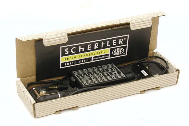 Schertler STAT-B Set 新品 ウッドベース用ピックアップ コンデンサーマイク[シャートラー][コントラバス][Pick Up,PU]