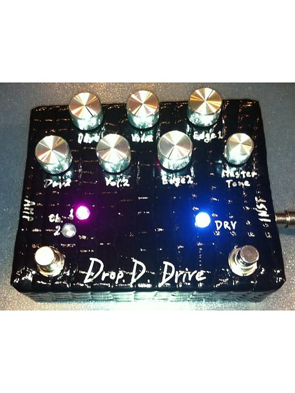 Shin's music DROP D DRIVE 新品 ディストーション [シンズミュージック][国産][ドロップ][ドライブ][Distortion][エフェクター,Effector]