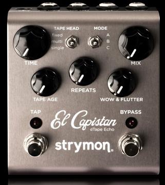 strymon El Capistan 新品 テープエコー[ストライモン][Damage Control,ダメージコントロール][エルキャピスタン][dTape Echo][Effector,エフェクター]