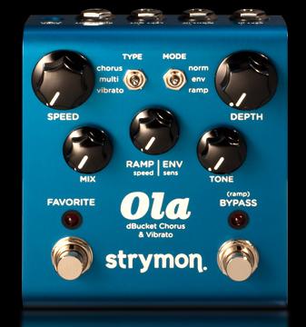 新作モデル strymon strymon Ola Chorus Chorus 新品 新品 コーラス[ストライモン][Damage Control,ダメージコントロール][オーラコーラス][Effector,エフェクター], WALK:990b3325 --- canoncity.azurewebsites.net