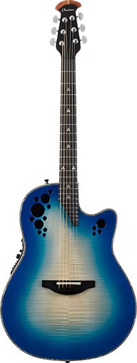 Ovation Elite Plus - C2078AXP Regal to Natural(RB) 新品[オベーション][エリートプラス][Blue,ブルー,青][エレアコ][Acoustic Guitar,アコギ,アコースティックギター,Folk Guitar,フォークギター]
