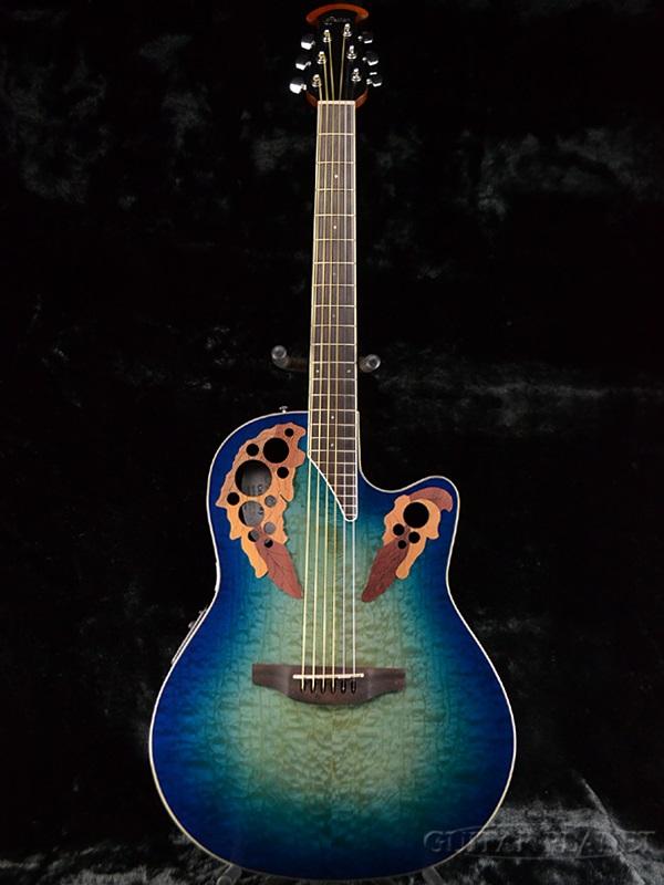 新しいコレクション Ovation CE48P -Regal guitar] To Natural- CE48P 新品[オベーション][Celebrity Ovation Elite,セレブリティ・エリートシリーズ][リーガルトゥナチュラル,Blue,ブルー,青][エレアコ,エレクトリックアコースティックギター,Electric Acoustic Guitar,フォークギター,folk guitar], かばんのお店 Re:Lotta-リロッタ-:53af6efa --- sequinca.net