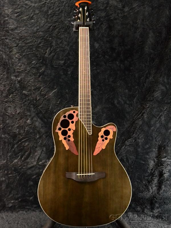 Ovation CE48 T5 -Trans Black- 新品[オベーション][Celebrity Elite,セレブリティ・エリート][トランスブラック,黒][エレアコ,エレクトリックアコースティックギター,Electric Acoustic Guitar,フォークギター,folk guitar]